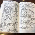 library-afton-villa-handwritten-notes